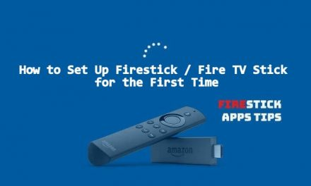 How To Setup Amazon Fire Stick / Fire TV Stick for the First Time?