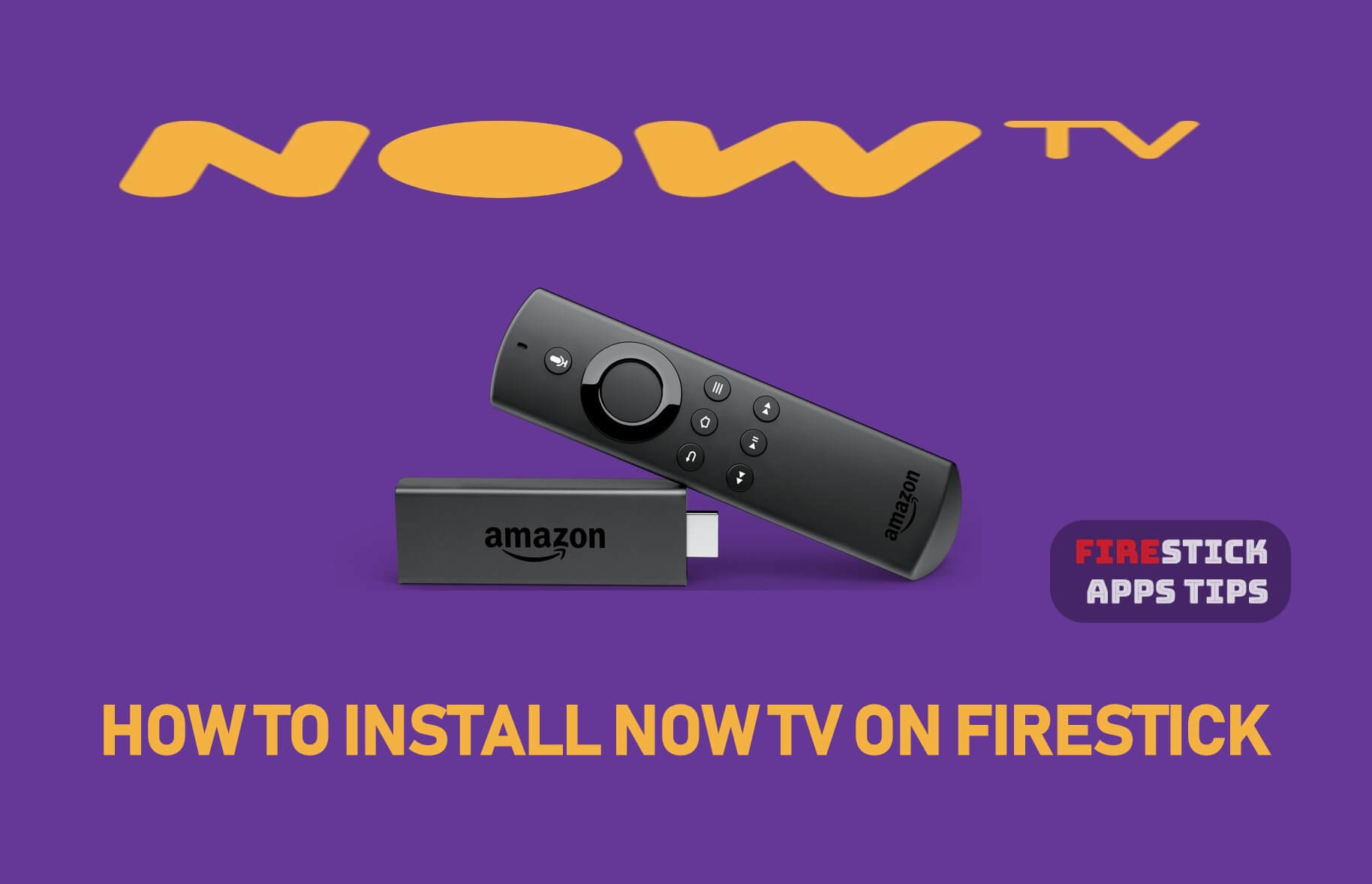 Install Now TV on Firestick