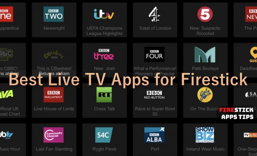 Best Live TV Apps for Firestick