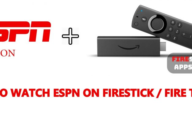 How to Watch ESPN on Firestick / Fire TV 2020