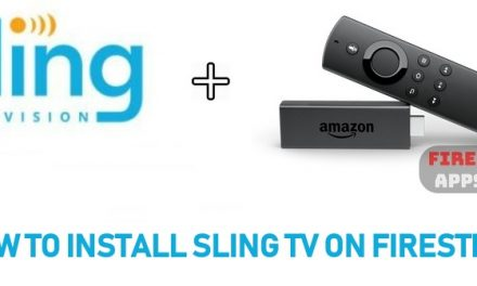 How to Download and Install Sling TV on Firestick / Fire TV [2020]