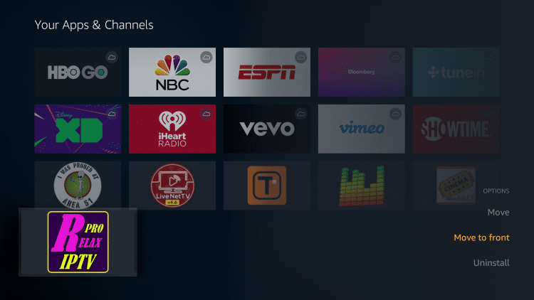 relax tv apk on firestick