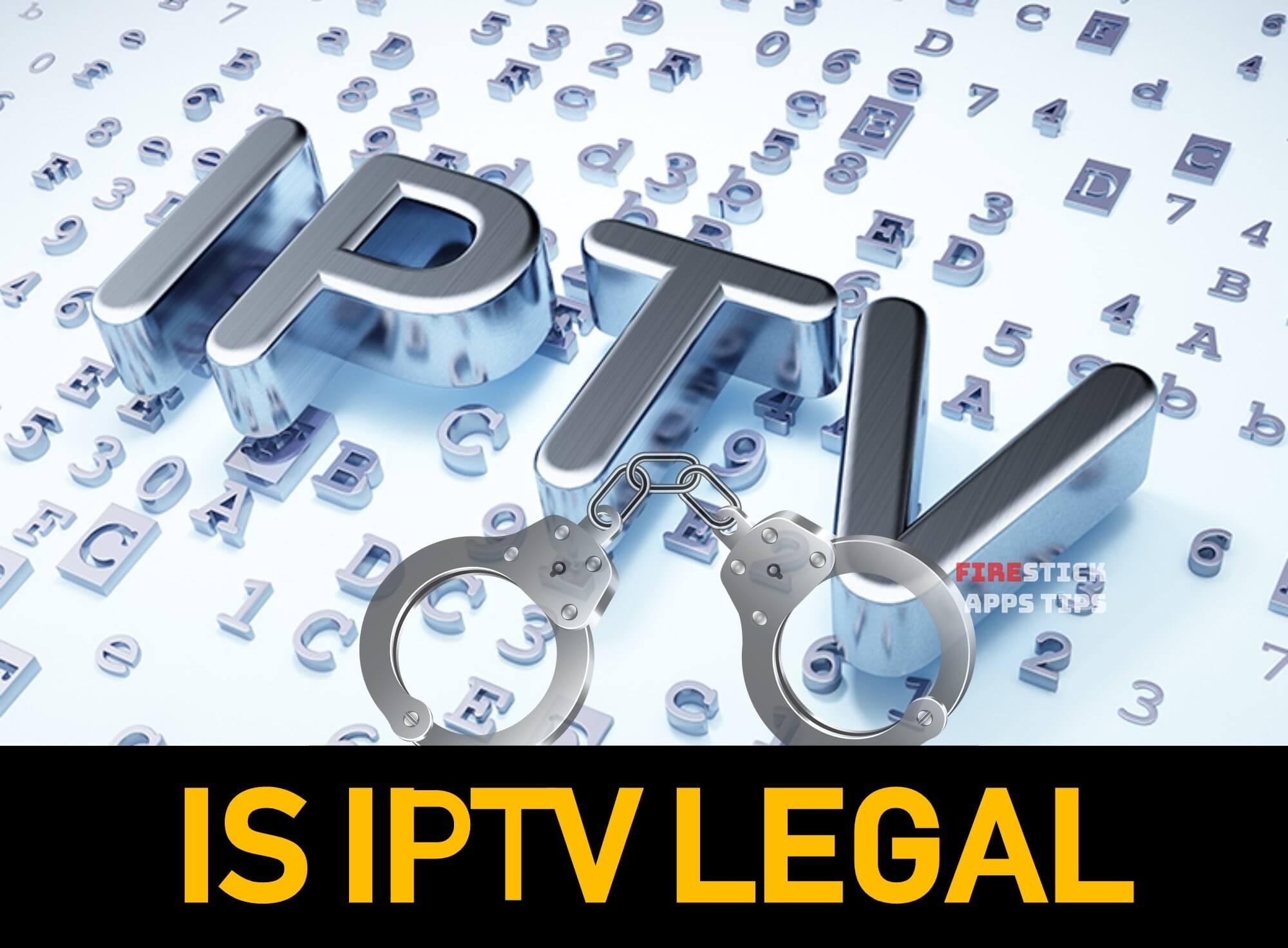 is IPTV legal