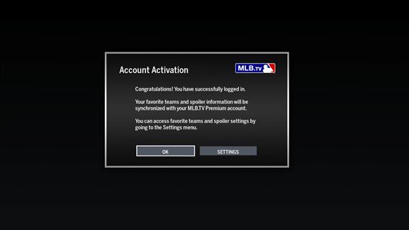 MLB TV for Firestick