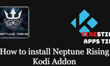 How to Install Neptune Rising Kodi Addon [2020]