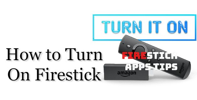 How to Turn On & Set Up Firestick / Fire TV