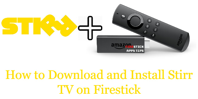 Stirr TV on Firestick