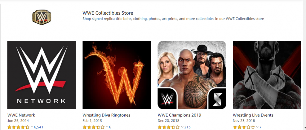 WWE network Firestick