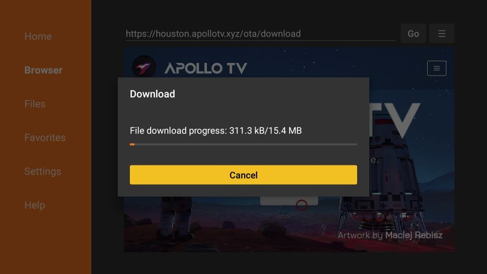 Apollo TV Firestick