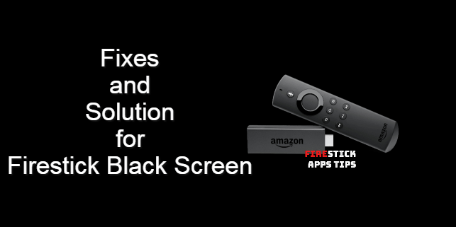 How to Fix amazon firestick black screen [4 Easy Ways]