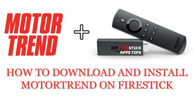 MotorTrend on Firestick