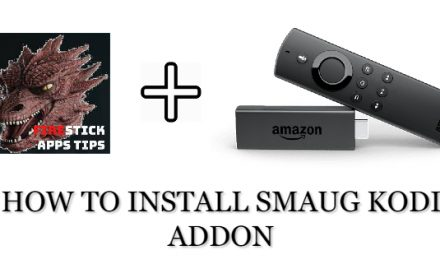 How to install smaug kodi addon on firestick