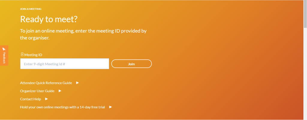 Join Meeting ID