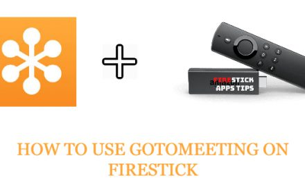 How to use GoToMeeting on Firestick/Fire TV