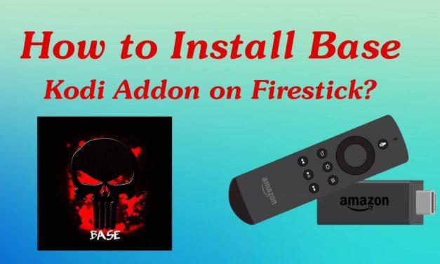 How to Install Base Kodi Addon on Firestick / Fire TV