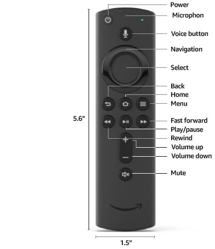 Alexa Remote (2nd Gen)
