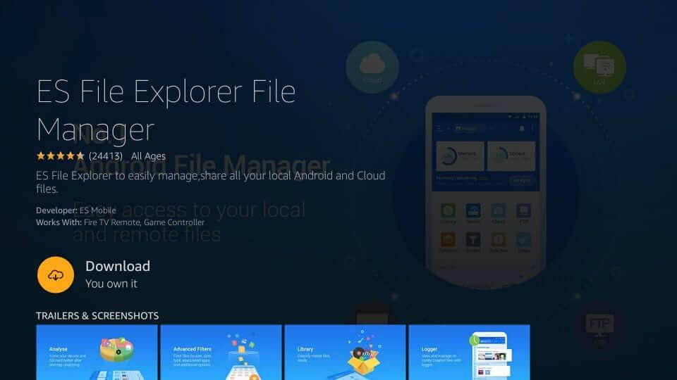 Download ES File Explorer