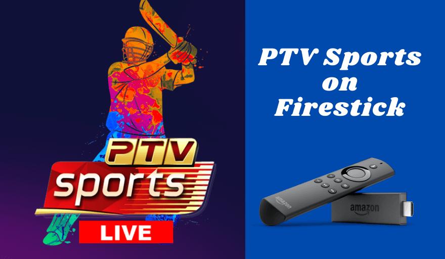 PTV Sports on Firestick