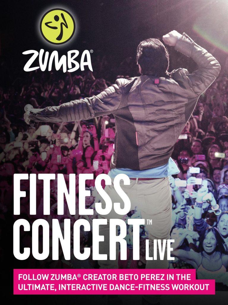 Zumba Fitness Concert Live