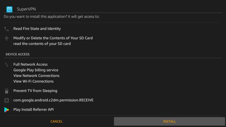 Super VPN for Firestick