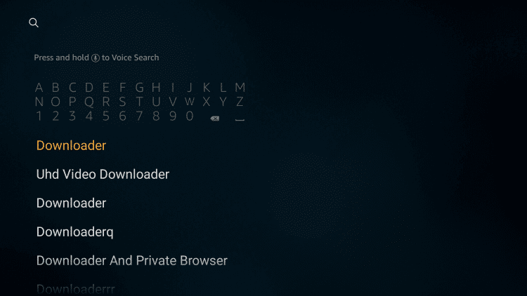 Type as Downloader