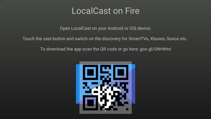 Install LocalCast on Firestick