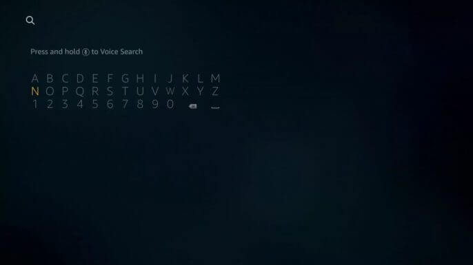 TYPE tbs in search box