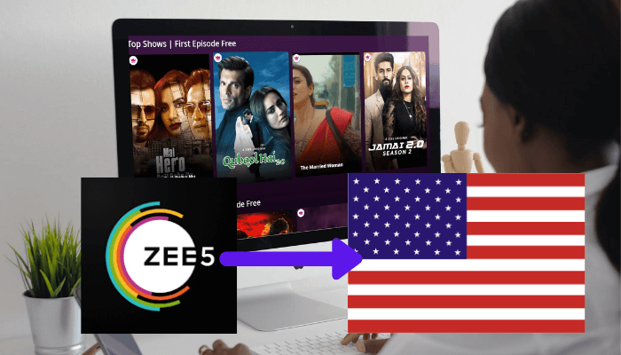 How to Watch ZEE5 in USA [Easiest Method 2021]