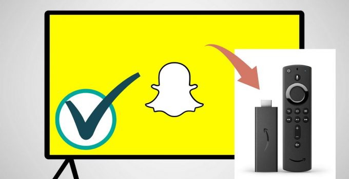 Snapchat on Firestick: How to Download and Install